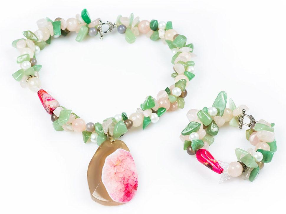 3. šperkový set – podporuje dobré nápady, myšlienky a intuíciu